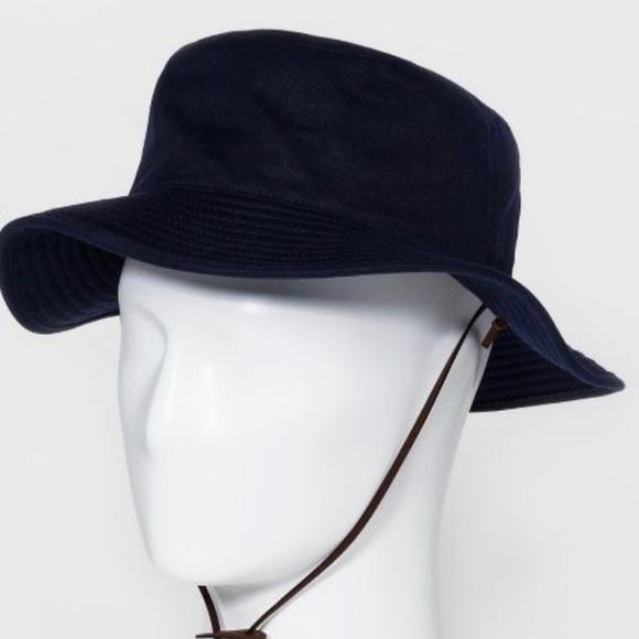 Goodfellow /& Co Men/'s Bucket Hat L//XL Navy